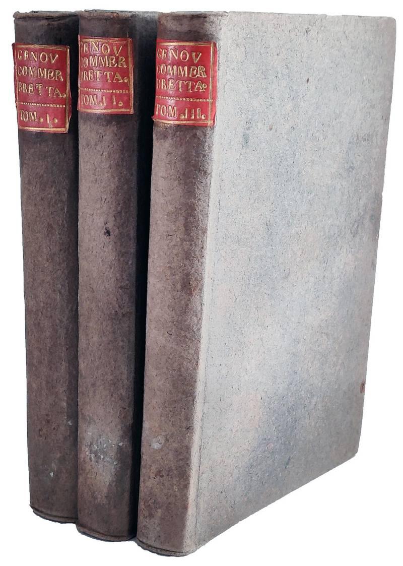 Storia del commercio della Gran Brettagna scritta da John Cary mercante di Bristol. Tradotta in nostra volgar lingua da Pietro Genovesi giureconsulto napoletano. Con un Ragionamento sul commercio in universale, e alcune annotazioni riguardanti l'economia