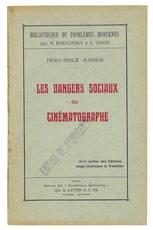 Les dangers sociaux du cinematographe