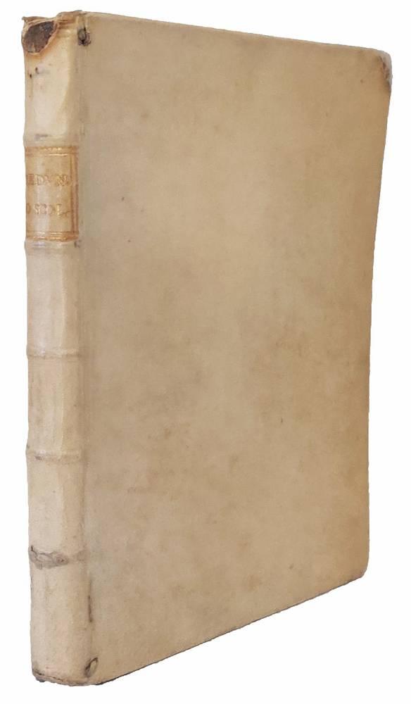 Lo scolare [...] Nel quale si forma a pieno un perfetto Scolare opera divisa in tre libri. Nel primo si tratta della generatione, & educatione de i figliuoli, delle qualità del corpo, e dell'animo dello Scolare, dell'utilità delle arti liberali, della m