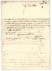 Legazione di Ferrara et Ingegneri d'Acque e Strade. Diarie. 1817 Aprile