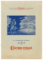 N. 44 composizioni disegnate da Girus per Centro Italia settimanale indipendente. Supp. al n. 144 di Centro Italia settimanale indipendente (17 dicembre 1954).