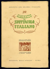 Almanacco dello spettacolo italiano. 1952.