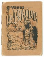Edizione tascabile dell'opera completa per pianoforte La Traviata di G. Verdi. Edizione unica di 5000 esemplari.
