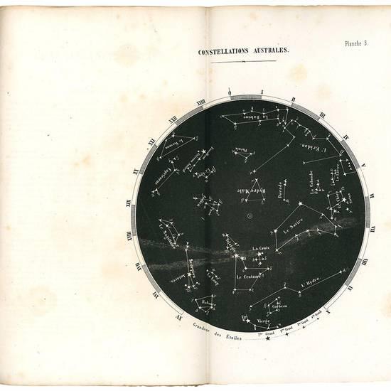 Guide pratique du navigateur contenant les modèles de tous les calculs astronomiques usités à la mer, avec notes dans le texte, expliquant la manière d'opérer dans tous les cas particuliers, la carte du ciel et une notice donnant la description et la
