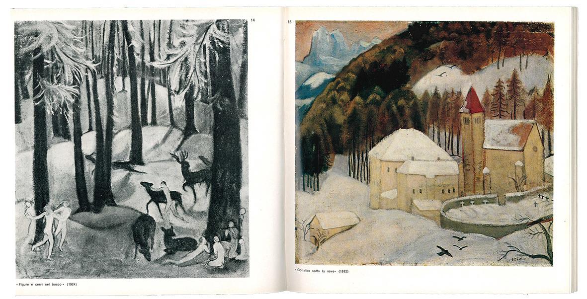 Elisabeth Chaplin : Galleria Michelucci, Firenze, dal 6 al 30 giugno 1972, testo introduttivo di Raffaele Monti