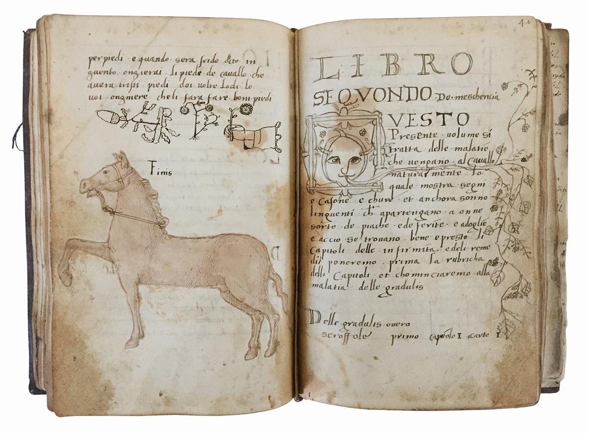 Libro de maschancia. Manoscritto su carta. Italia, primo quarto del XVI secolo