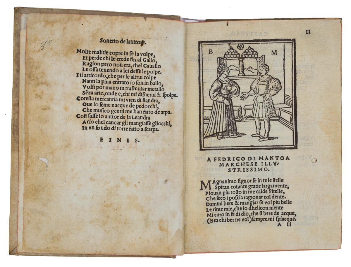 Orlandino qual tratta darme e damor per Limerno Pitocco da Mantua composto. Et con gratia novamente impress. 1527