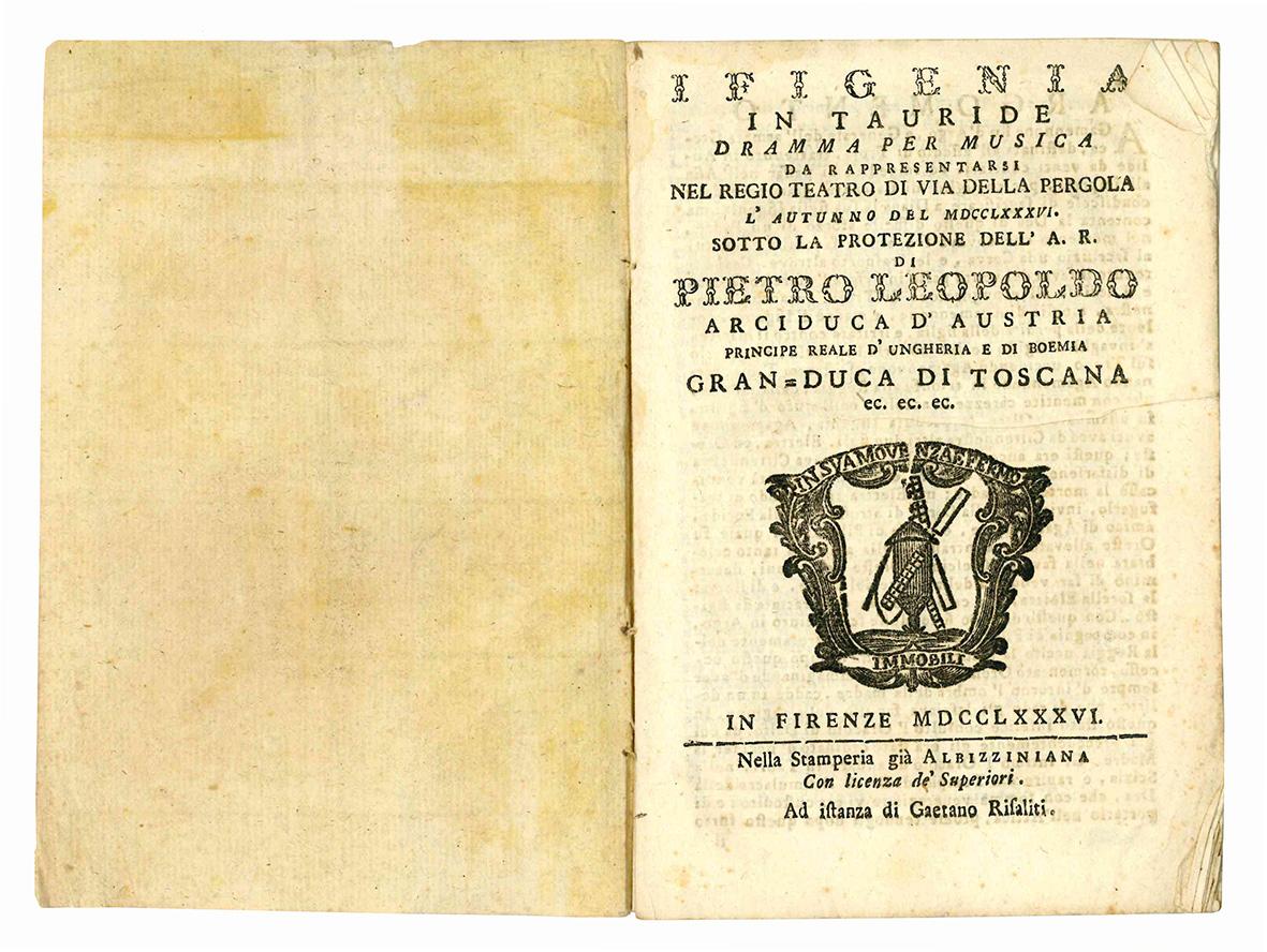 Ifigenia in Tauride dramma per musica