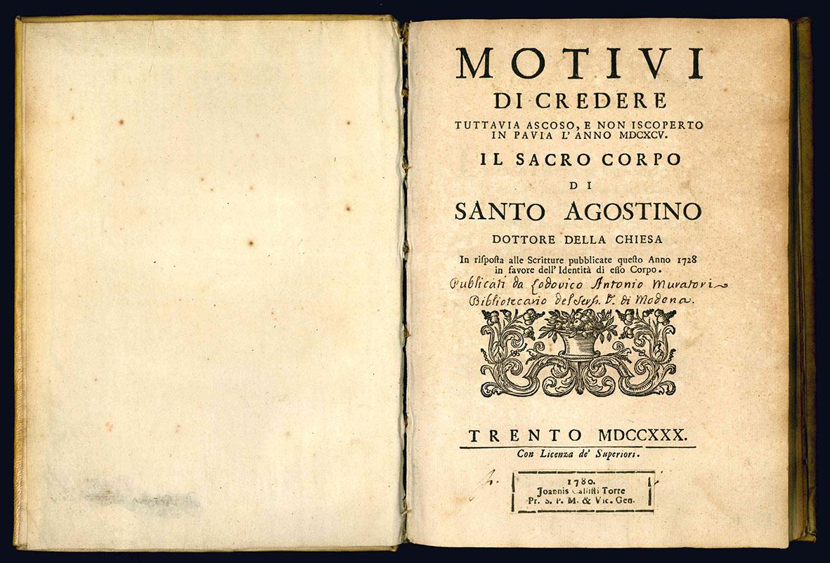 Motivi di credere tuttavia ascoso, e non iscoperto in Pavia l'anno MDCXCV.